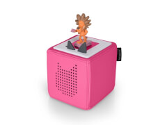 Tonies® Starterset - Toniebox pink, ab 3 Jahren.
