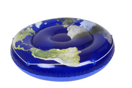 Badeinsel Blue Planet, Ø ca. 173 cm
