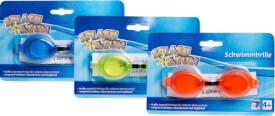 Splash & Fun Schwimmbrille unifarben, 4+
