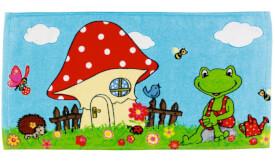 Zauberhandtuch Frosch Garden Kids
