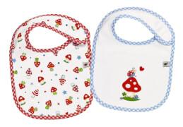 Die Spiegelburg - Geschenkset Lätzchen BabyGlück, 2 St. sortiert, (nicht frei wählbar)