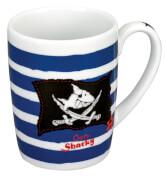 Porzellan-Tasse Capt'n Sharky